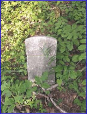 Depp Cemetery - tombstone Aurelius Depp