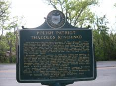 Kosciusko Polish Patriot History Marker